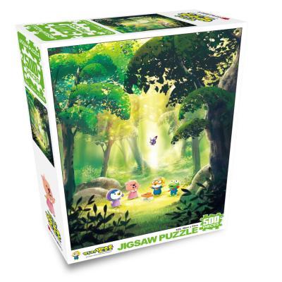 뽀로로 직소퍼즐 500PCS 나비의숲