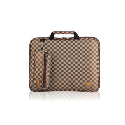 노트북가방 14.1인치(일반형) 체스체크쟈가드 브라운