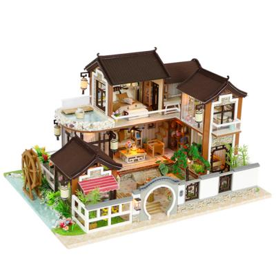 [adico]DIY 미니어처 풀하우스 - 한옥 스테이