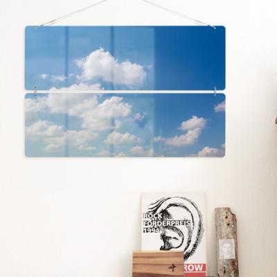 nl189-멀티아크릴액자_맑고푸르른하늘(2단대형)