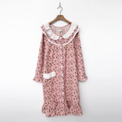 Gimo Flower Frill Sleep Dress
