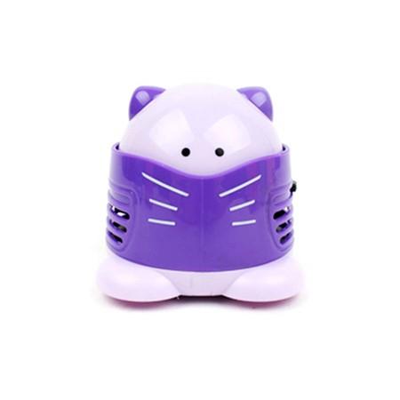 고양이 미니 청소기 - 퍼플