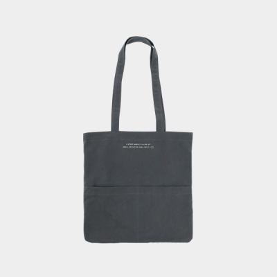 Rosette Flap Pocket bag charcoal 로제트 플랩 포켓백 차콜