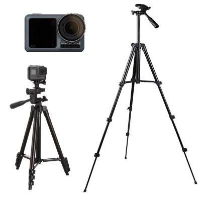 카메라 스마트폰 겸용 삼각대 dji 오즈모 액션캠 블랙
