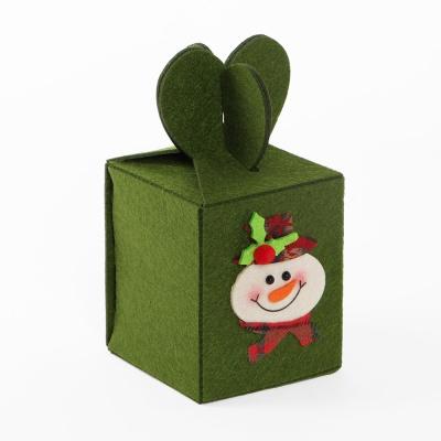 크리스마스소품 선물상자(눈사람)