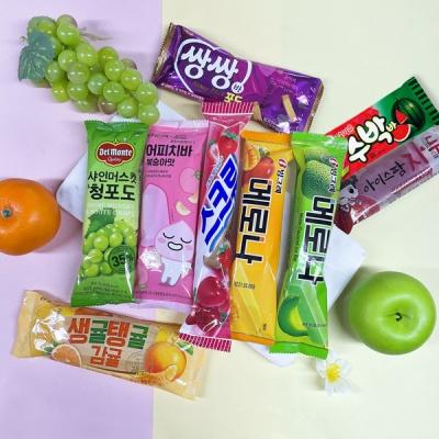 [추억속아이스크림] 과일맛 9종세트/총27개