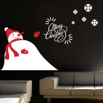cg722-눈사람의메리크리스마스_그래픽스티커