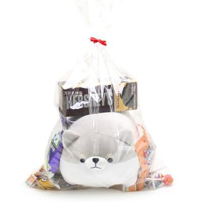 발렌타인데이 허스키인형 사탕선물 패키지