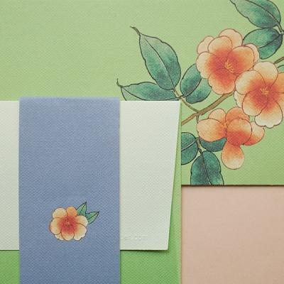 동백꽃봉투