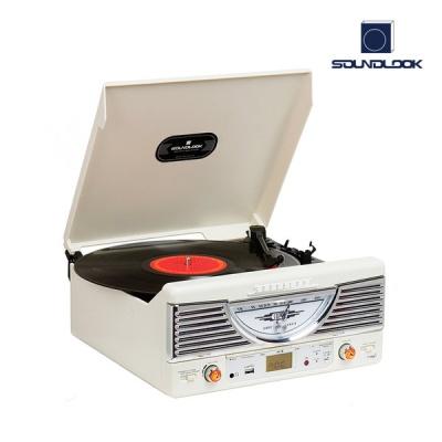 사운드룩 SLT-7080BT 레트로 턴테이블