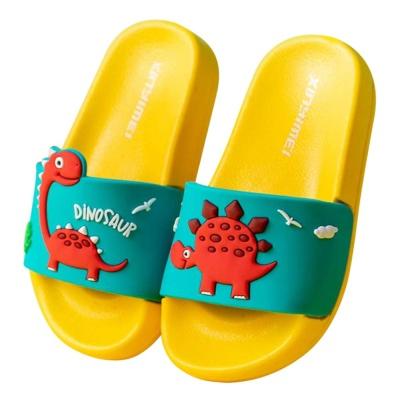 예쁜 공룡 캐릭터 학교슬리퍼 실내화 샌들 학생 신발