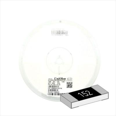 SMD 칩저항 1206 3216 1 4W 5% J급 1.5K옴 1릴