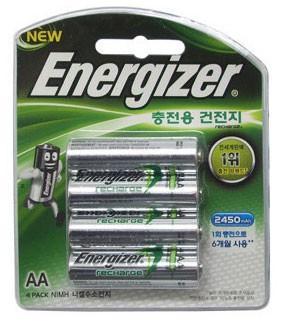 에너자이저 충전지AA(4알)