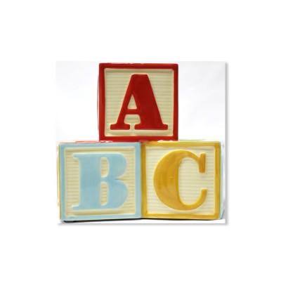 [50%할인-홀마크 저금통]알파벳 & 숫자 큐브 저금통 - BBY4423
