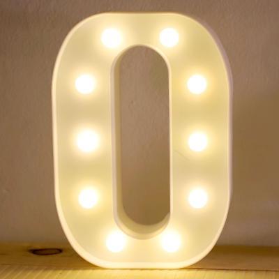 LED 앵두전구 조명등 알파벳 O