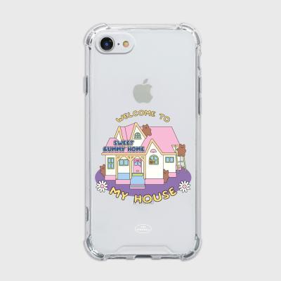 pink house gummy [탱크투명 폰케이스]
