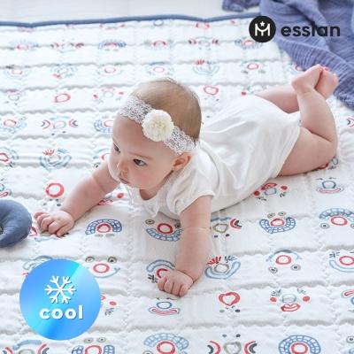인견 3D메쉬 쿨매트_삐에로(블루)