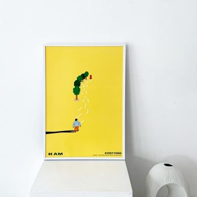 [KEEERI x BFMA] EVERYTHING 포스터 A4,A3 - I AM