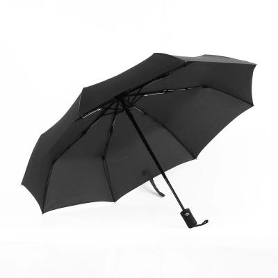 3단 튼튼한우산(블랙) / 접이식 완전자동 방풍우산