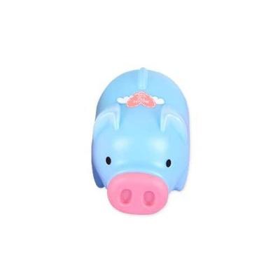 팬시 돼지저금통 특대 블루 미니금고 가정용금고