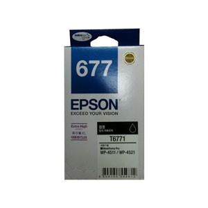 엡손(EPSON) 잉크 C13T677170 (슈퍼대용량플러스) / NO.677 / Black / WP-4521,WP-4511