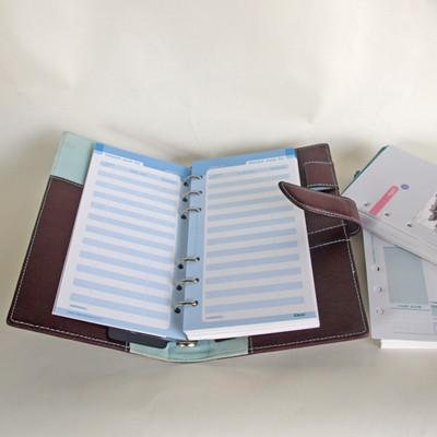 시스템다이어리 리필 CEO사이즈- Styled lifeplan checking system