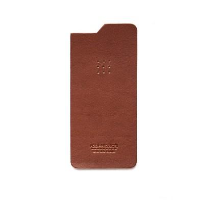 504 아이폰6 & 6플러스 가죽스킨 (brown)