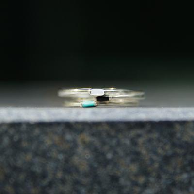 제이로렌 R0571 포인트 원석 실버반지
