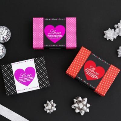 포포팬시 6구 하트 초콜릿 포장 선물 상자