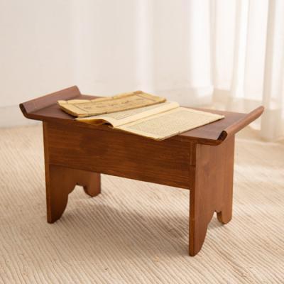 돌잡이 책상(다크브라운)