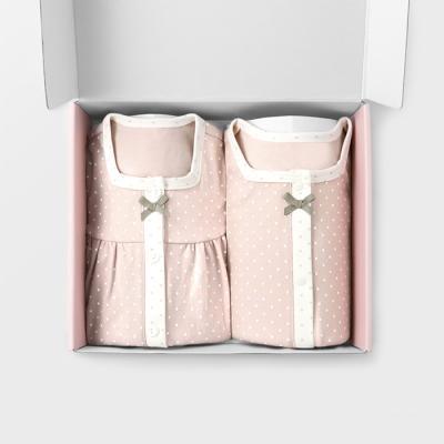 [메르베] 도로시 아기 돌세트(내의+수면조끼)사계절용