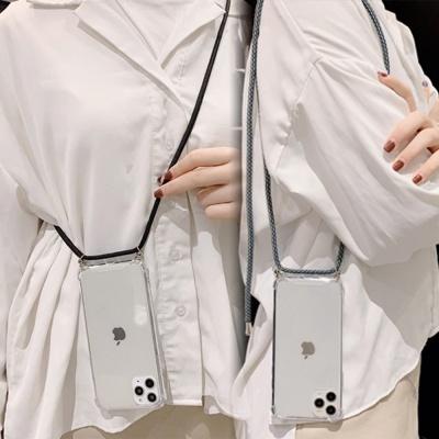 갤럭시A70 연예인 핸드폰줄 넥스트랩 투명 젤리케이스