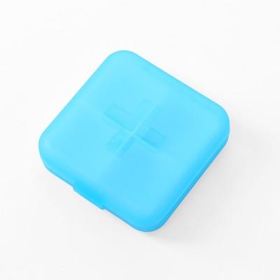 메이컬 4칸 미니 알약케이스(블루)