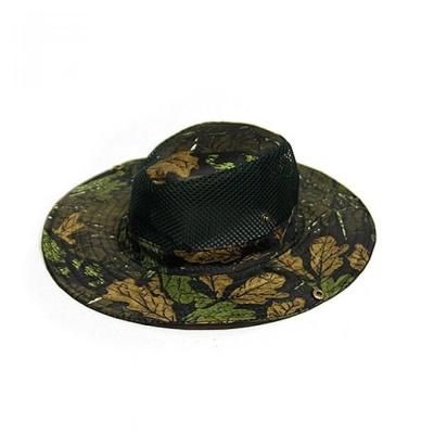 화에 낙엽 디지털 정글망사 모자