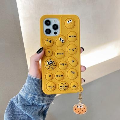 아이폰12 11 pro max xs 8 쿠키 팝잇 키링 젤리케이스