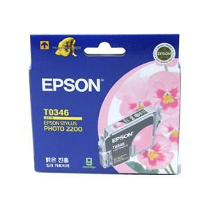 엡손(EPSON) 잉크 C13TO34670 / 밝은진홍 / Styius Photo 2200