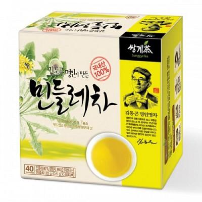 쌍계명차 부드럽고 향긋한 김동곤명인 민들레차 40티백