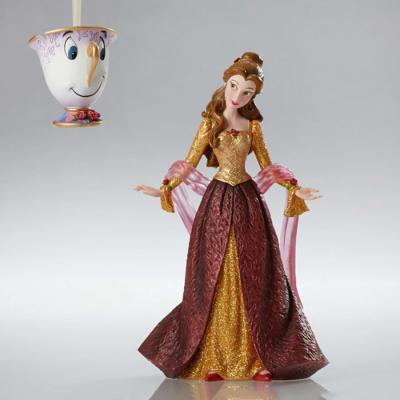 디즈니 미녀와야수 벨공주와칩 피규어-G4053349