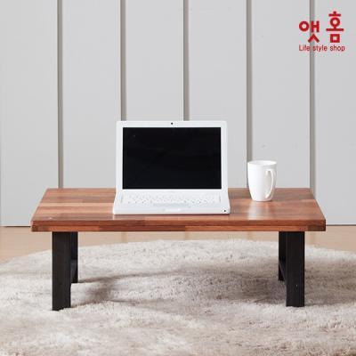 앳홈 심플 우드 접이식 테이블 L