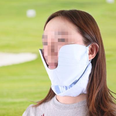 여성 골프 볼마스크 2color 자외선차단 얼굴가리개