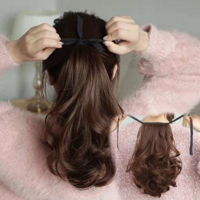 몰리 포니테일 내츄럴 올림머리 붙임머리 부분가발
