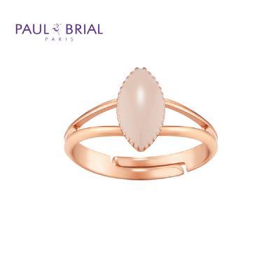 폴브리알 PYBR0114 (PG) 마퀴즈 투라인 반지 BEIGE