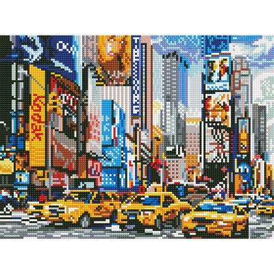 아이엠미니 DIY 보석십자수 30x40_뉴욕 타임스퀘어