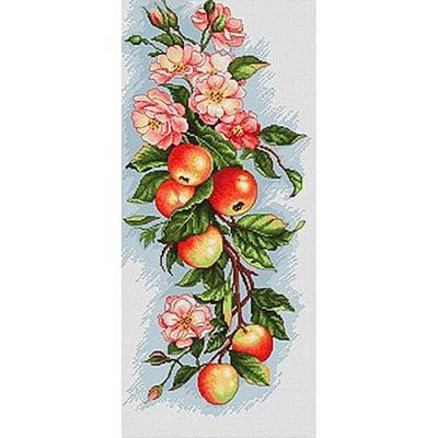 사과나무 (패브릭) 보석십자수 30x65