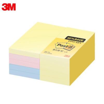 3M 포스트잇 노트 알뜰팩 656-10A [00031892]