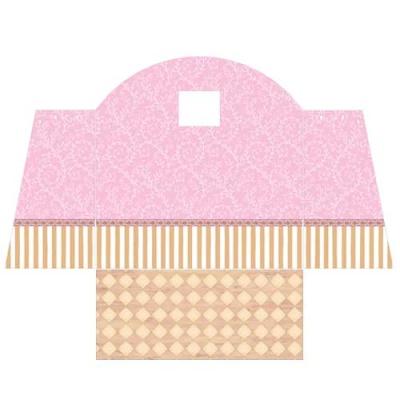 [바우하우스] 핑크 벽지 HB-11(햇살 공주방 벽지)