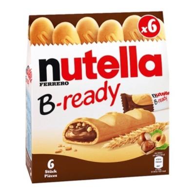 누텔라 과자 브레디 132G 대용량 NUTELLA 초코 쿠키