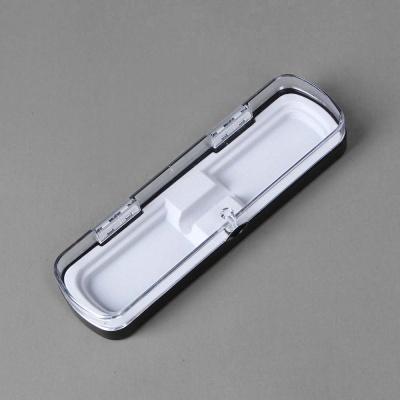 마그네틱 투명 볼펜 케이스(화이트)