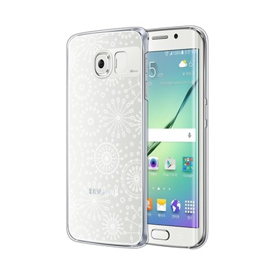 Galaxy S7 Edge Clear Silver (Fire Works)