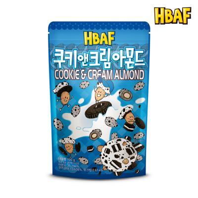 [길림양행] 쿠키앤크림 아몬드 190g